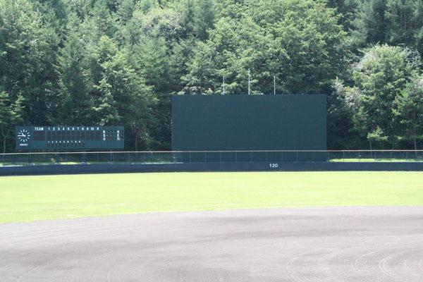 岩手町野球場