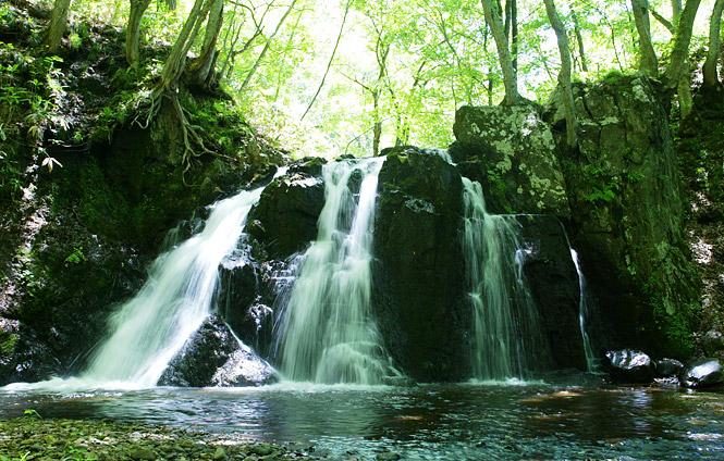 御堂新田(みどうしんでん)の滝