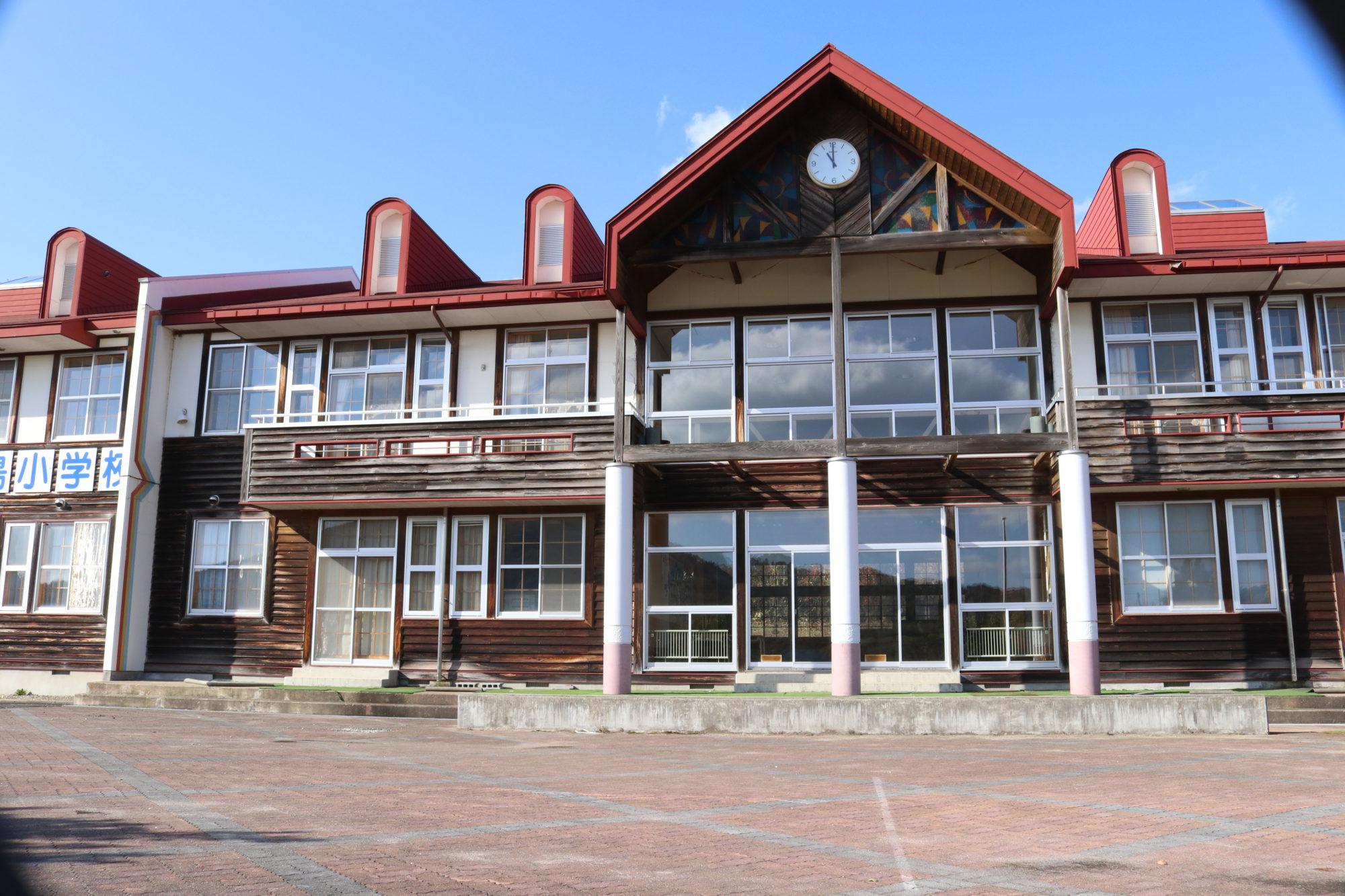 浮島小学校-外観2