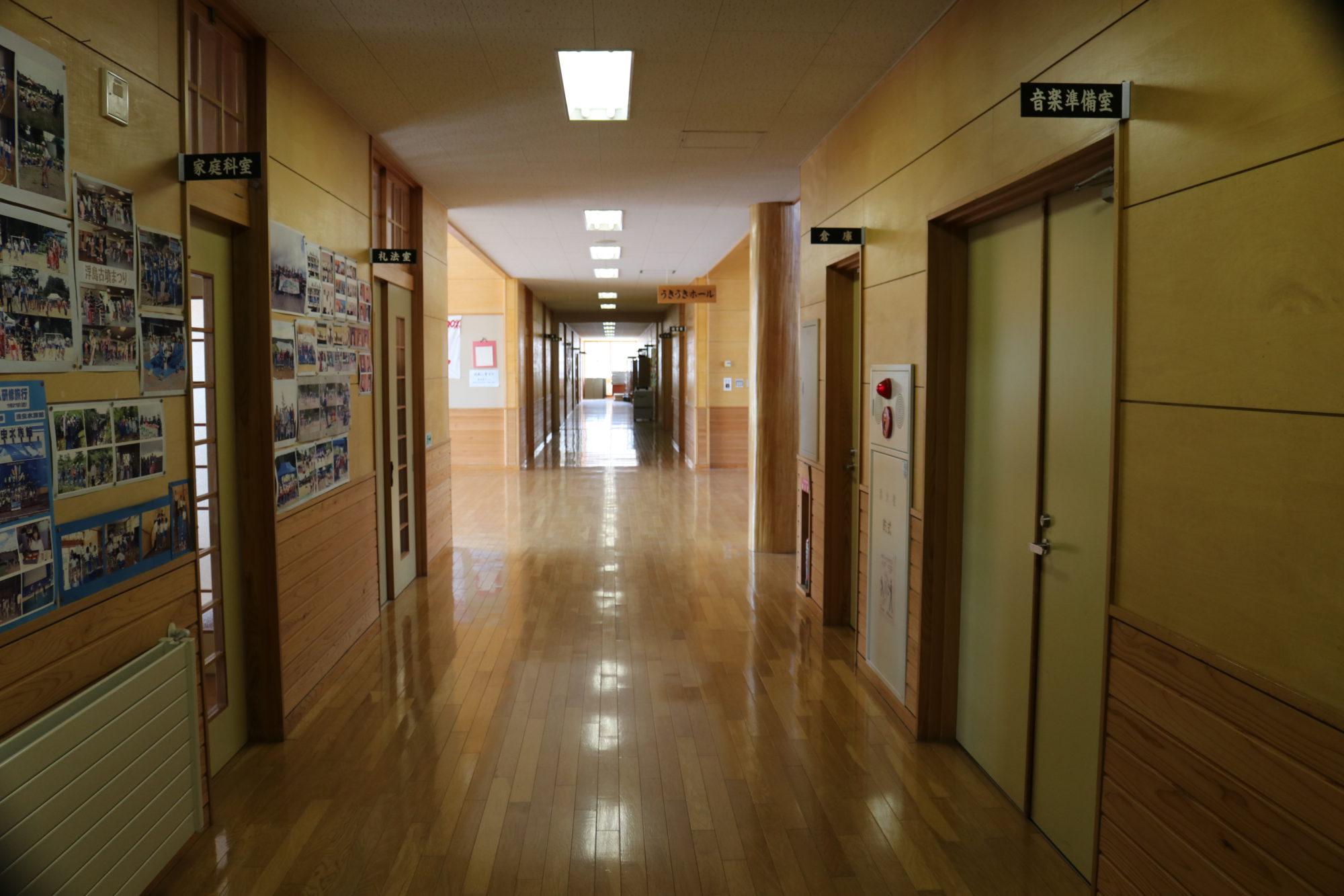 浮島小学校-内観1