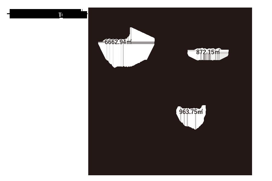 久保小学校-敷地内配置図