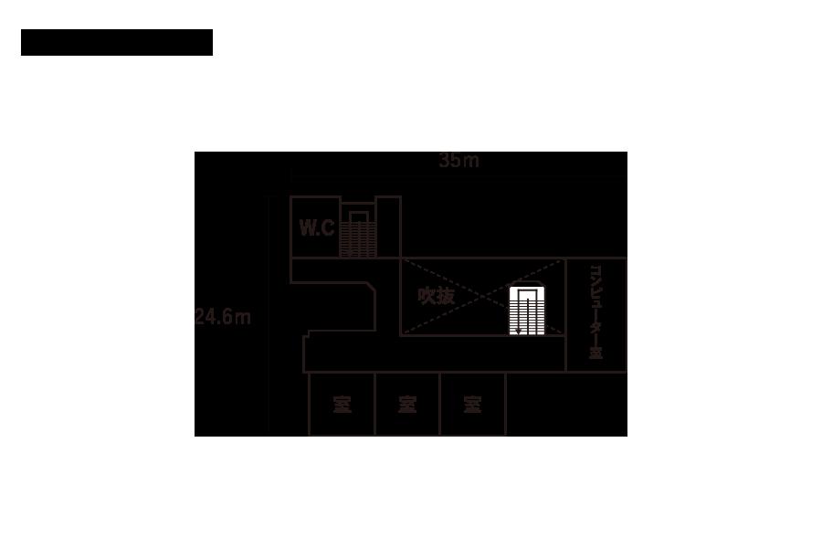 南山形小学校-2F平面図