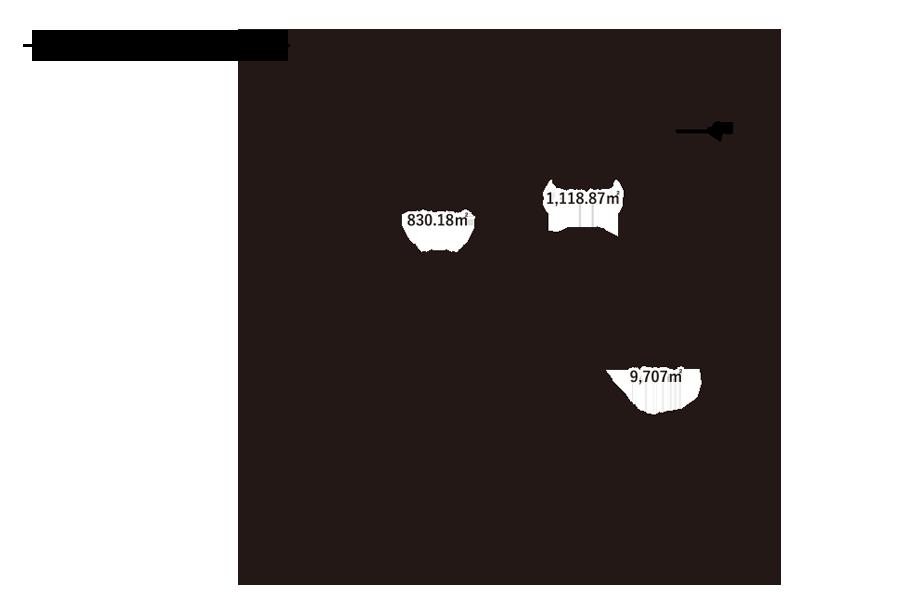 水堀小学校-敷地内配置図