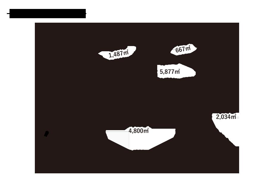 浮島小学校-敷地内配置図